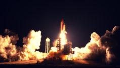 Shuttle Launch Wide