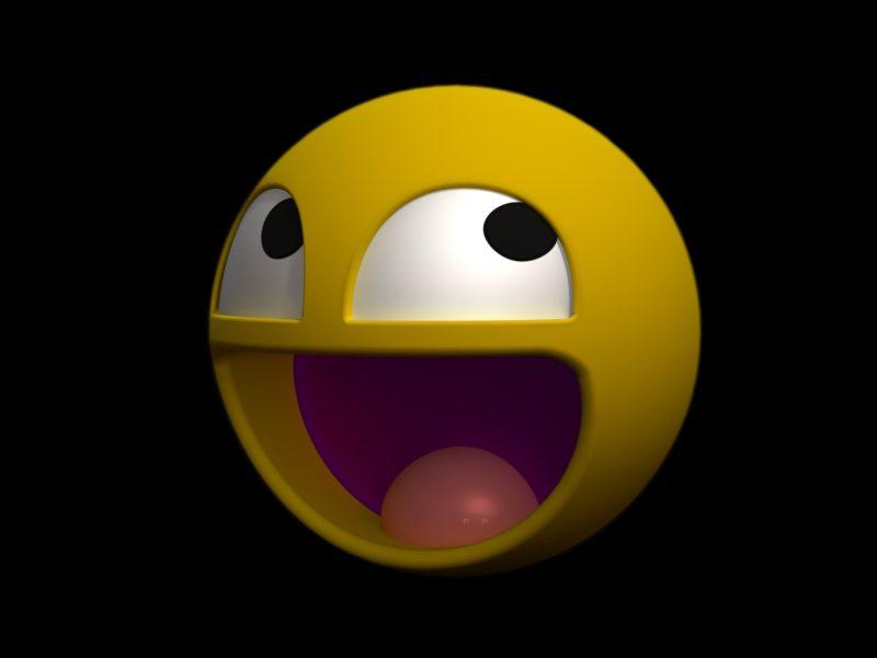 Smiley Funny Yellow Tongue 8646 1920×1200