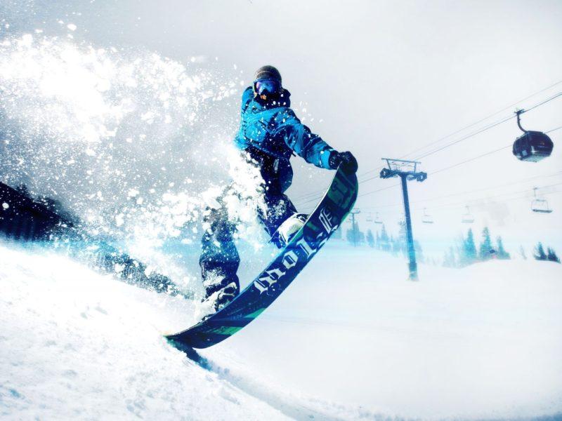 Snowskate Winter Sports