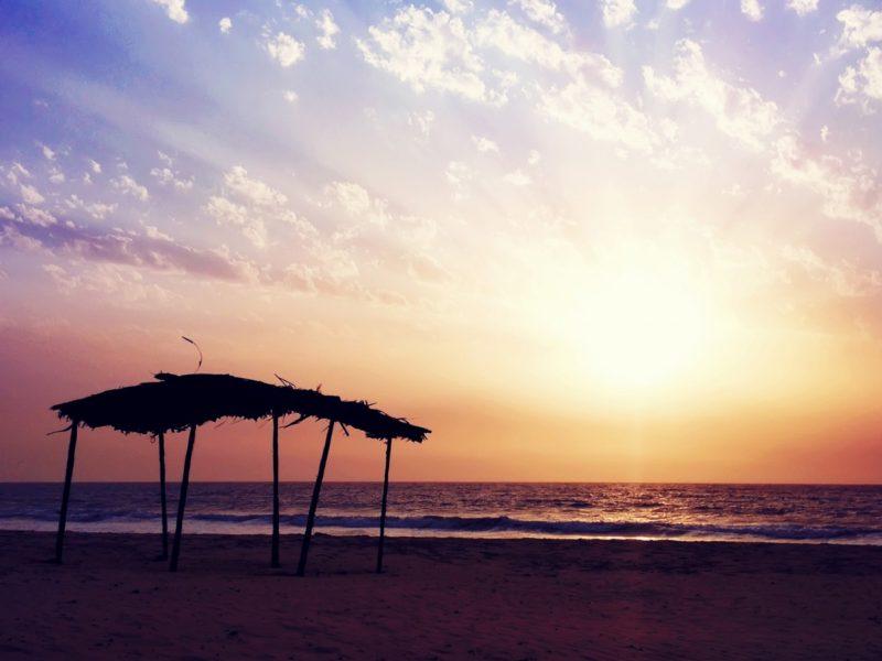 Sunset Beach Mood 1600×900