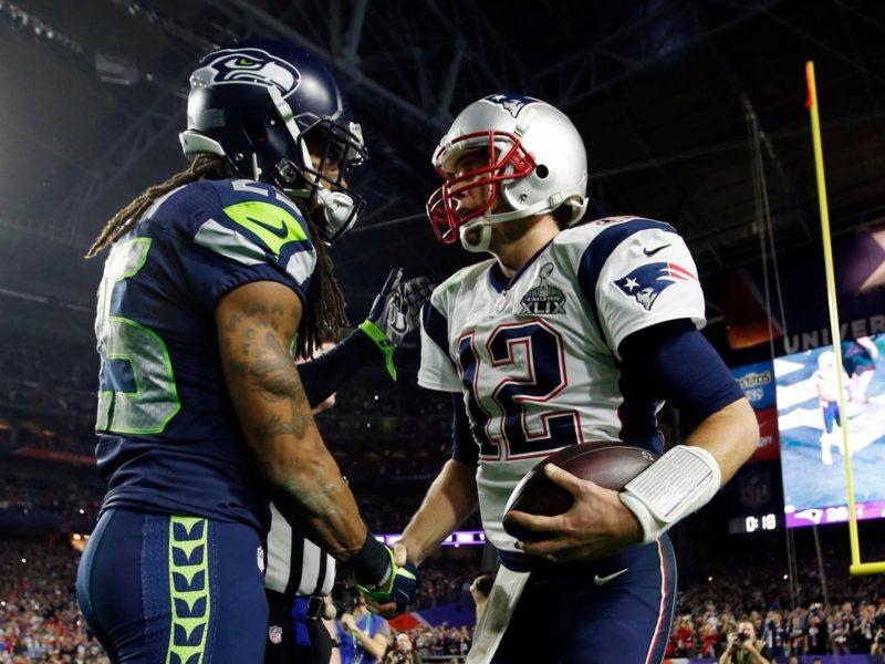 Tom Brady And Richard Sherman 4k