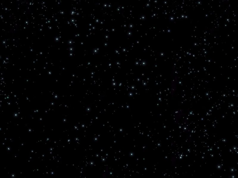 Whte Lights In Space 4k