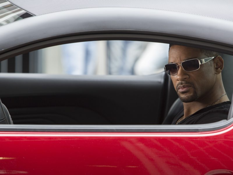Will Smith At The Shooting Of Focus