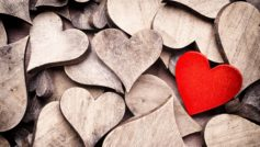 Wood Hearts 4k