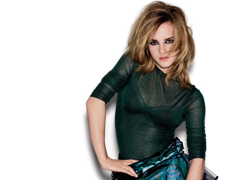 Wow Emma Watson Shoot