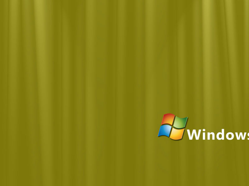 Yellow Silk Windows Vista