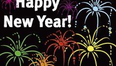 Background Happy New Year Cartoon