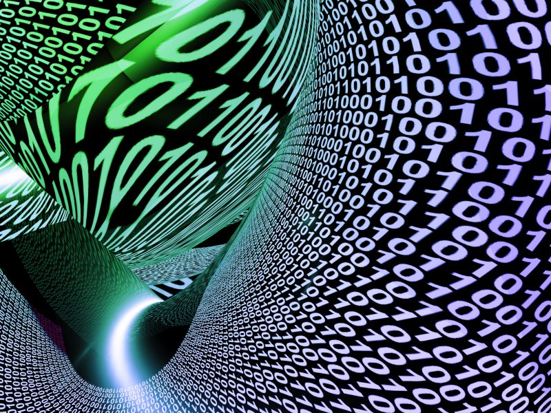 Abstract Binary Code Background Showing Technology And Data Zkpn8fdd
