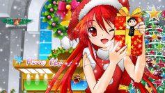 Anime Shakugan No Shana Tree Stars Gifts New Year Mood Holiday 28375 3840×2400