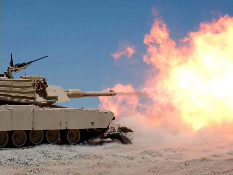 M1a1 Abrams Tank 308732