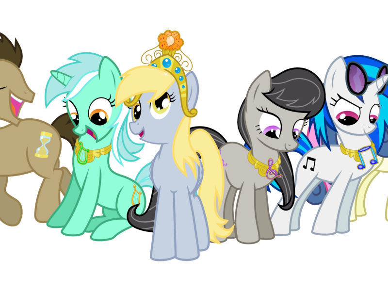 My Little Pony Friendship Is Magic Wallpaper