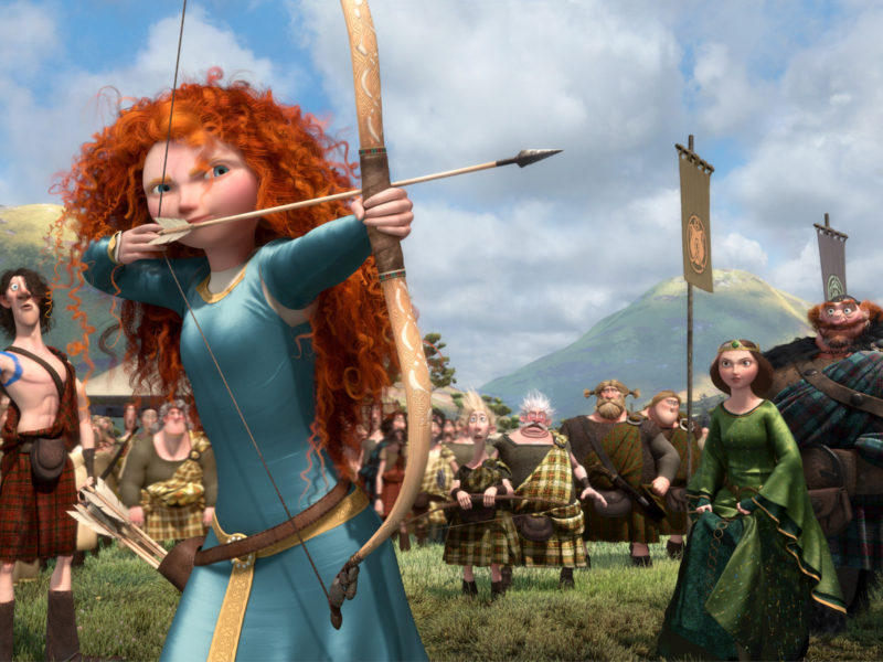 Brave by Walt Disney