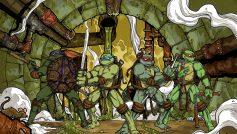 Teenage Mutant Ninja Turtles Warrior Cartoon Wallpapers