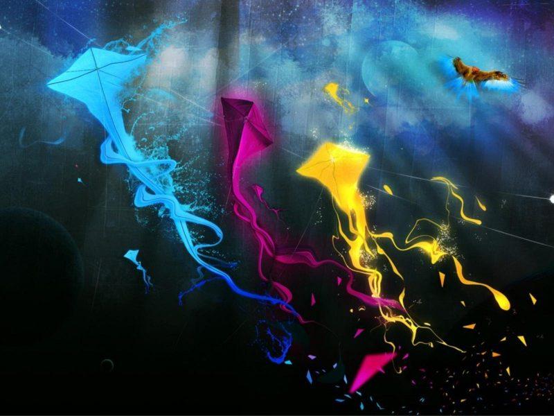 Beautiful Kites Hd