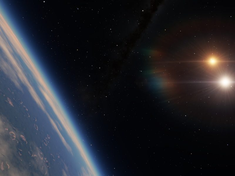 A Screenshot From Space Engine