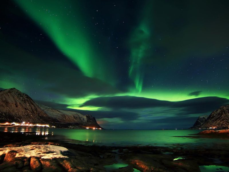 Aurora Above Lofoten
