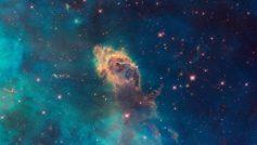 Carina Nebula Pillar