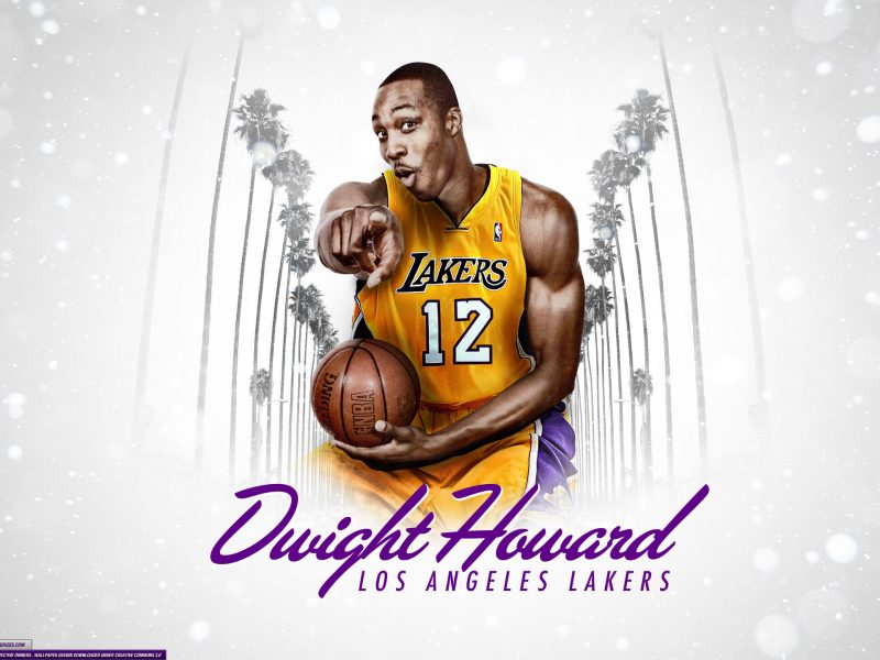 Dwight Howard La Lakers 2560×1440