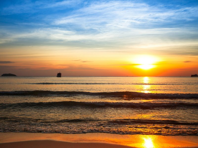 Awesome Beach Sunset