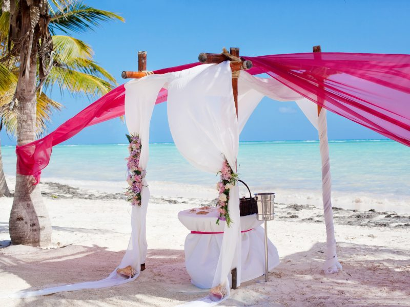 Beach Romantic Dinner Table