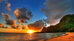 Beach Sunset 1080p Hd For Desktop