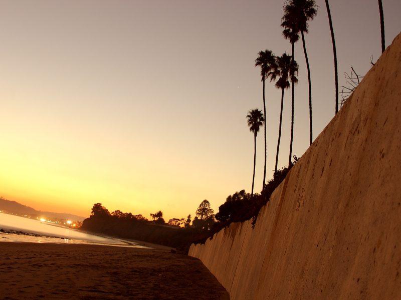 Beach Twilight View