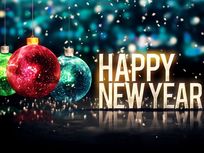 Happy New Year Wallpaper Desktop Background