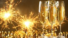 Inspirational Champagne Happy New Year Hd