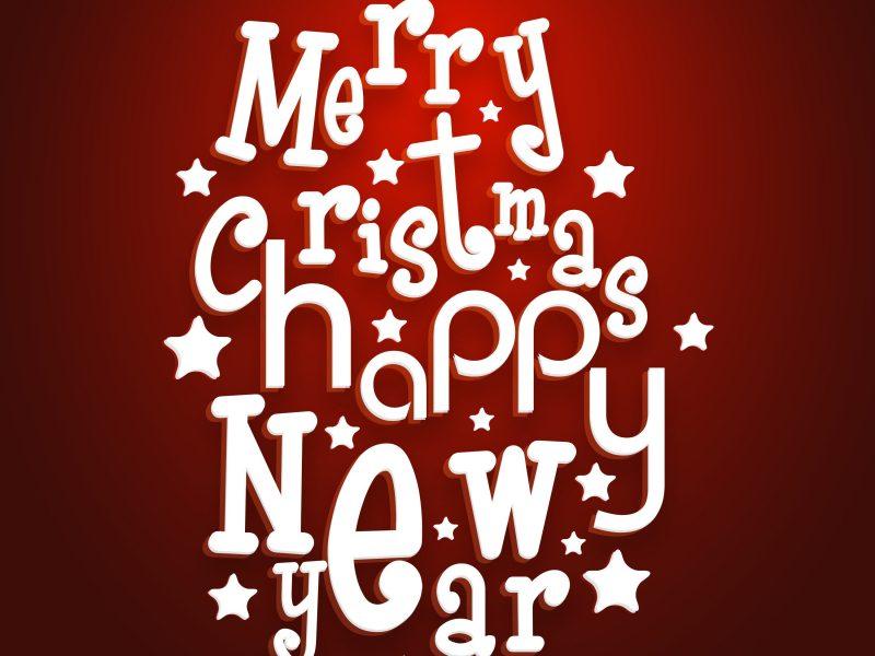 Merry Christmas Celebration Greeting Card Or Background Mkzn8kvd