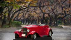 1932 Ford Convertible Roadster (red)