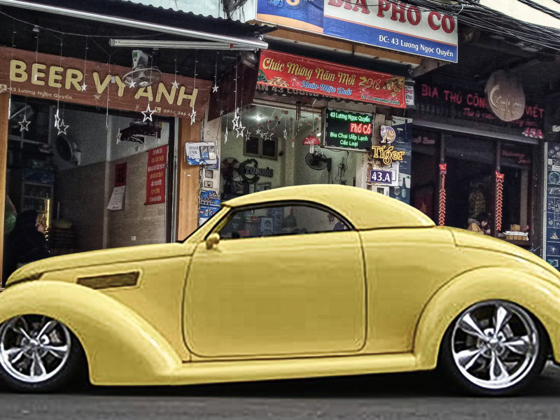 1937 Ford Hardtop Conv. (lemon)