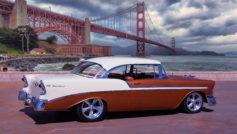 1956 Chevy Belair Hardtop (two Tone)
