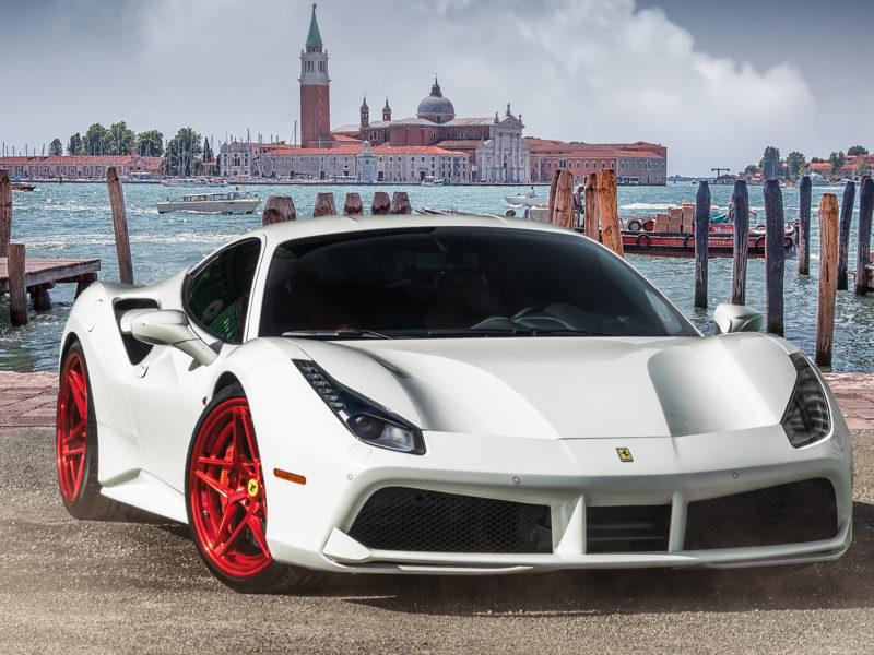 2017 Ferrari 488 Gtb (white)