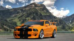 2017 Mustang 5.0 (orange)