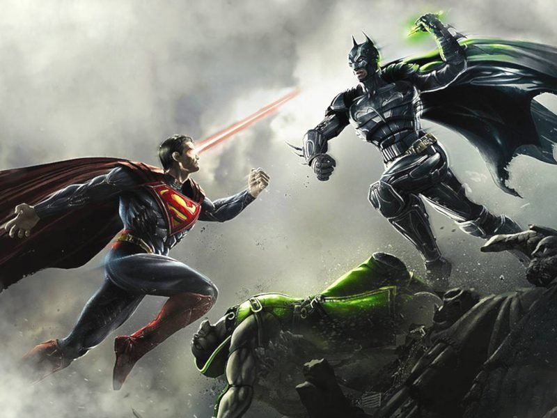Superman Vs Batman – Injustice: Gods Among Us