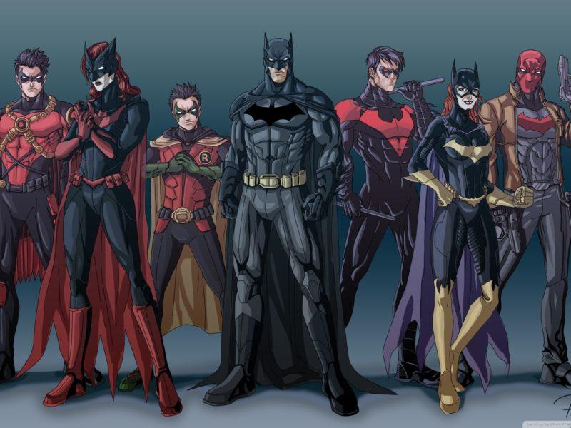 The Bat Family DC Comics Art Works