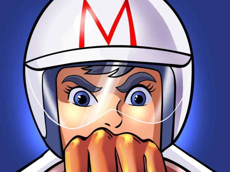 Speed Racer Cartoon