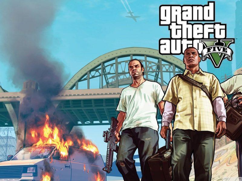 Grand Theft Auto V Trio Wallpaper