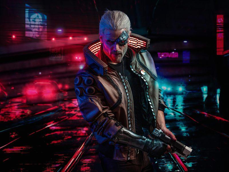 Cyberpunk 2077:Geralt Of Rivia The Witcher