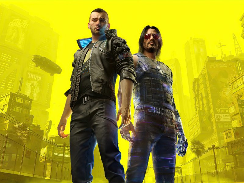 Cyberpunk 2077:Johnny Silverhand Character V Xbox Series