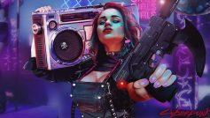 Cyberpunk 2077:girl 2020 (Neon Concept Art)